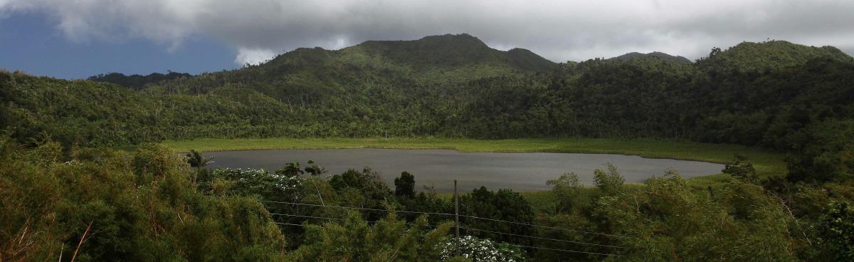 Grand Etang maar, Grenada