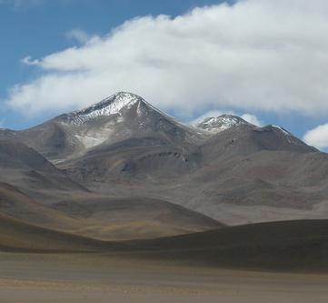 Uturuncu, Andes